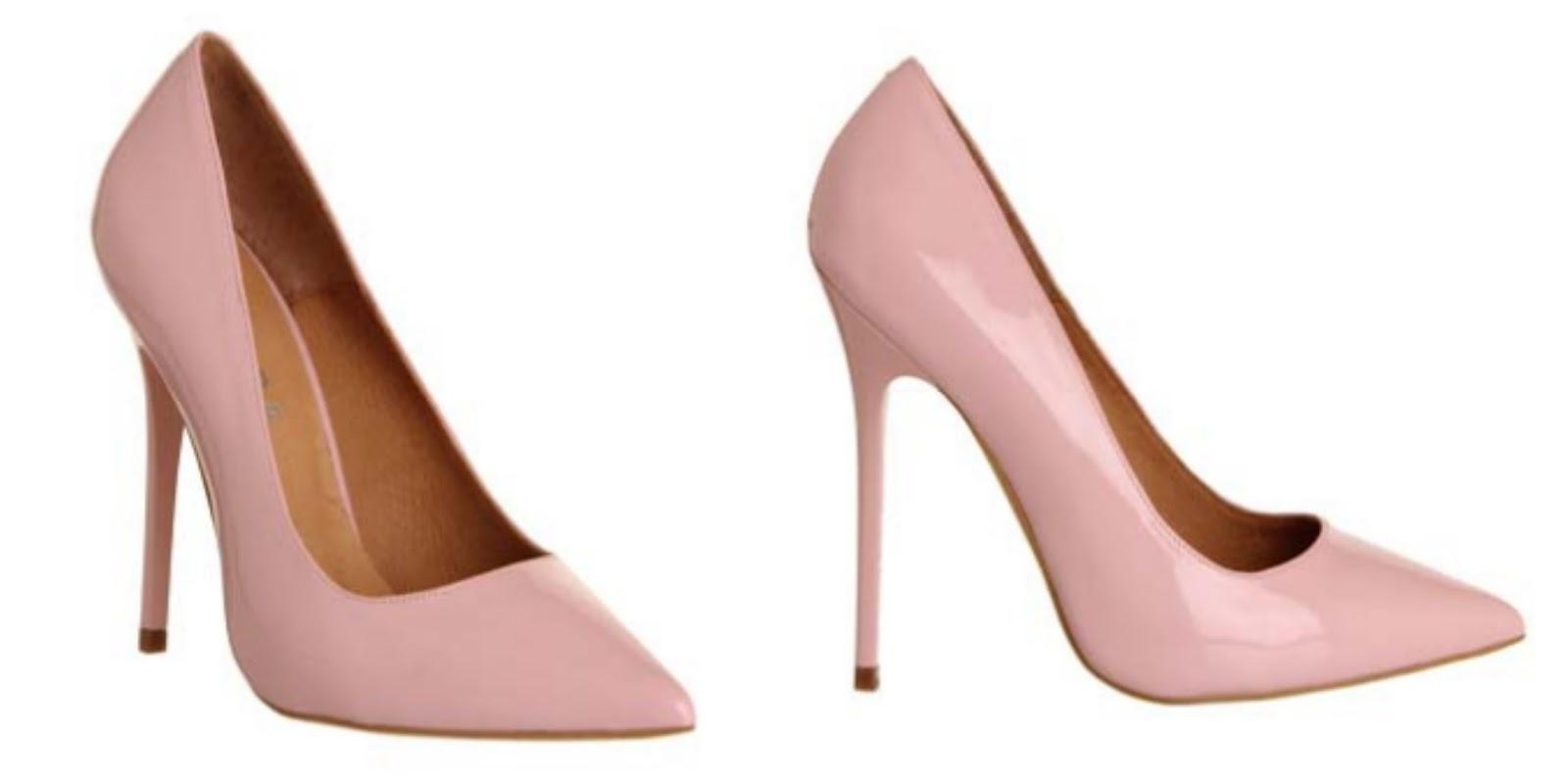 7f50c21efc45 Office On Tops Pastel Pink Heels- £65