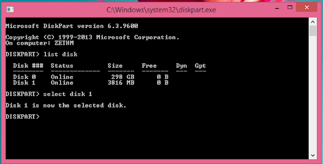 membuat flasdisk bootable