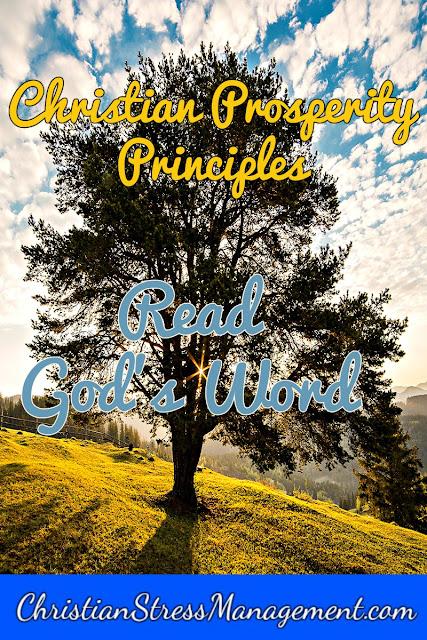 Christian Prosperity Principles: Read God's Word