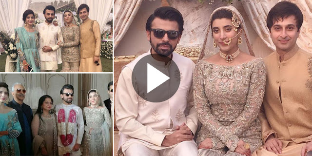 Urwa Hocane And Farhan Saeed's Nikaah Ceremony Video And Pictures