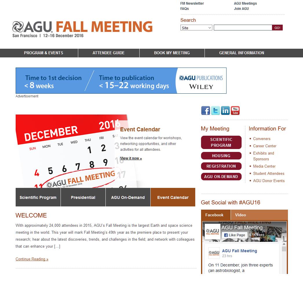 Http Fallmeeting Agu Org  Students Fall Meeting Student Travel Grants