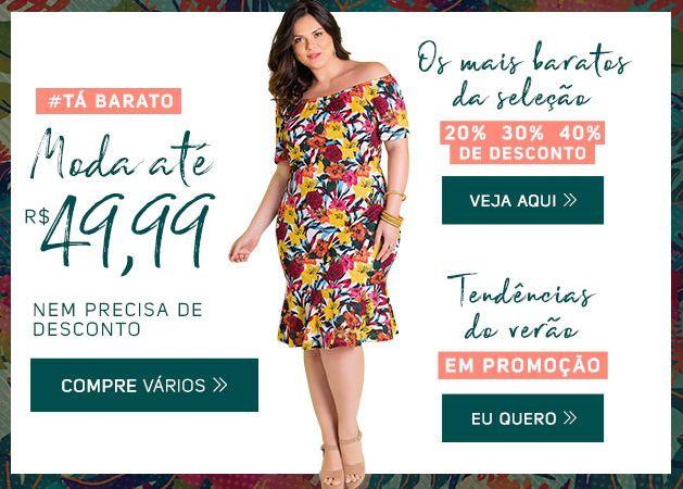 Promoção MODA FEMININA Só R$ 49,99 APROVEITE