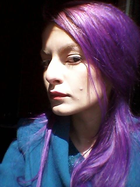 Come Fare I Capelli Viola Senza Decolorazione   Janis garden capelli viola  tinta per eaf2c0063299