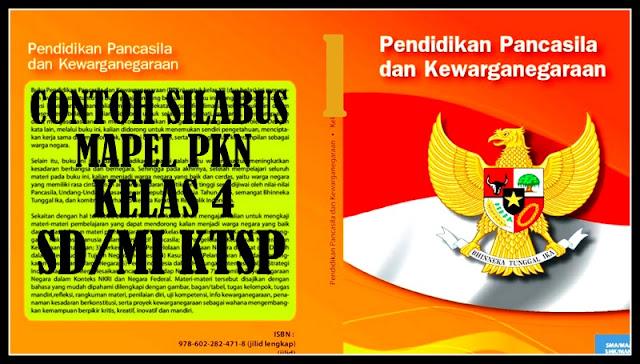 Download Contoh Silabus PKN Kelas 4 SD/MI KTSP