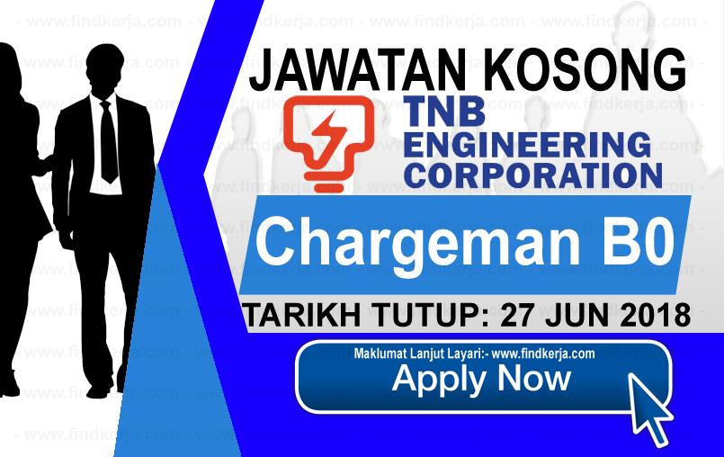 Jawatan Kerja Kosong TNB Engineering Corporation logo www.findkerja.com www.ohjob.info jun 2018