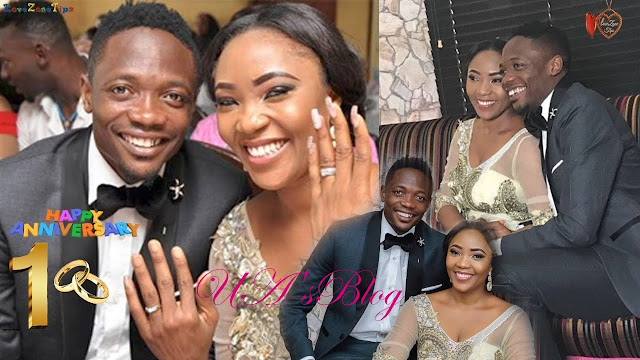 Ahmed Musa And Wife, Juliet Celebrate Their 1st Wedding Anniversary
