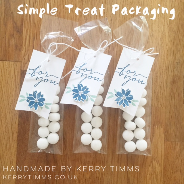 kerry timms 3d packaging blooms and wishes stamps handmade gift cardmaking scrapbooking paper craft class gloucester whitminster mint treat cello bag tag flowers ink favour