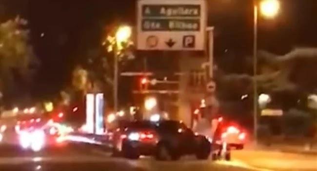 Βίντεο : Οδηγός με 4Χ4 κυνηγάει πεζό για να τον χτυπήσει στη Μαδρίτη