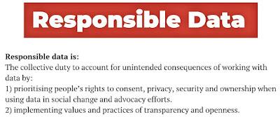 Responsible data definition (slide)