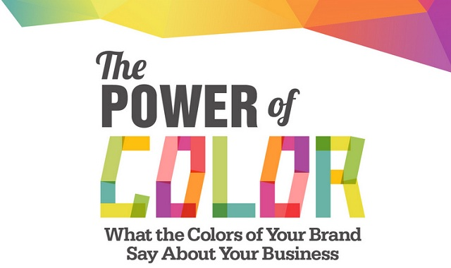 Image: The Power of Color #infographic