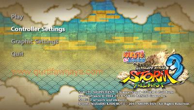 Cara Mengatasi Stik Tidak Terdeteksi Naruto Storm 3 Full Burst
