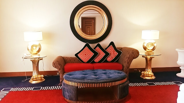 Burj Al Arab Room Tour