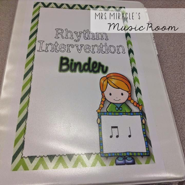 Rhythm intervention: Great ideas for working individually with students who are struggling with rhythm while keeping other students engaged!