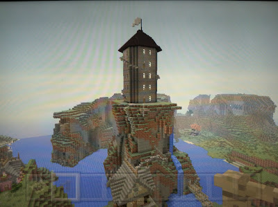 Spooky Minecraft witch tower cool build