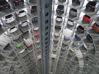 Aparcamiento, parking enorme