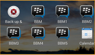 BBM Multi mod Apk v3.1.0.13 Terbaru Full Version