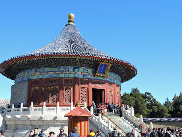 Visite du temple du vent à Pékin