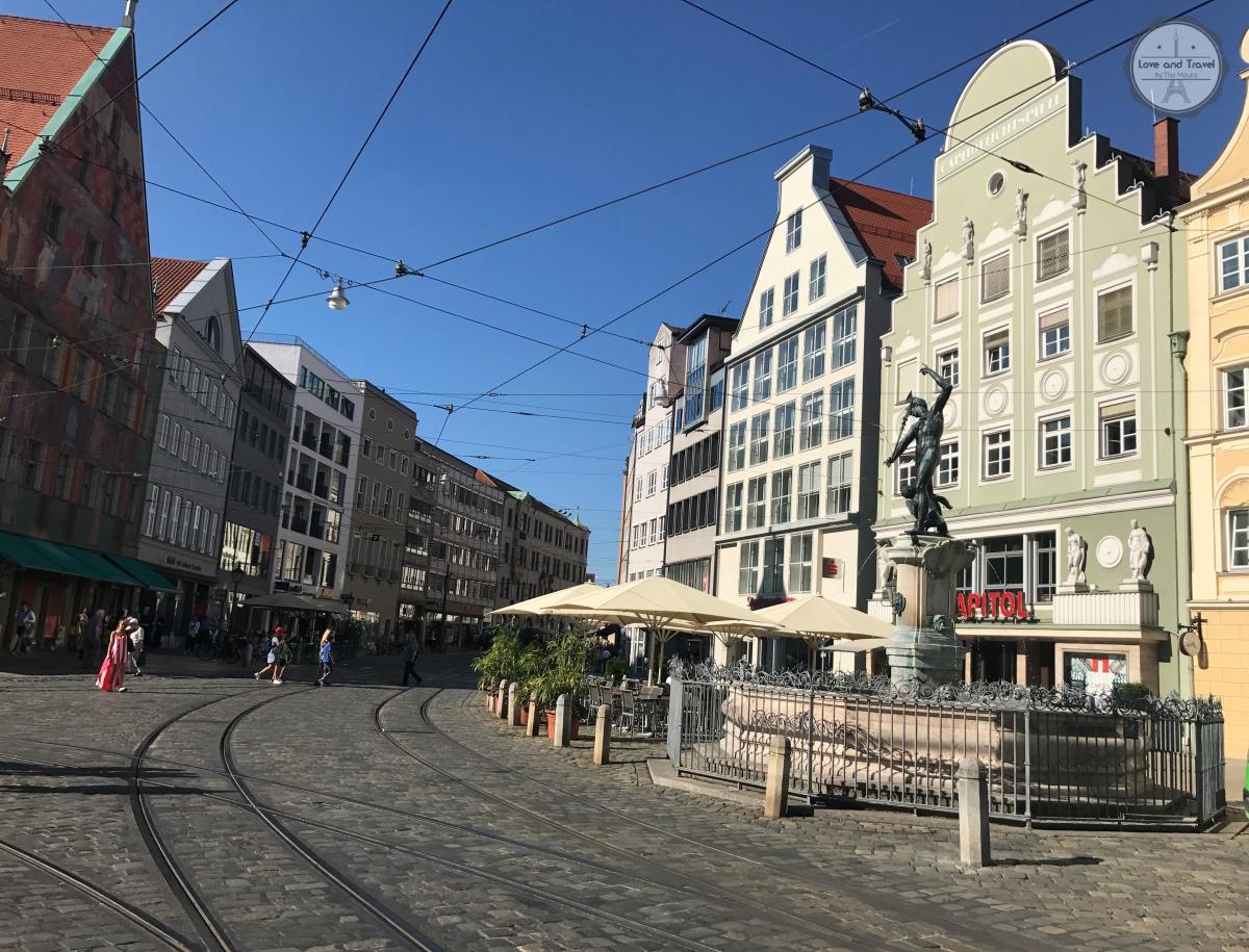 Cidades da Rota Romântica da Alemanha: Augsburg