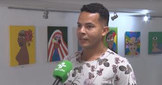 Artista visual Alan Cruz, promove oficina para crianças da LBV em CG