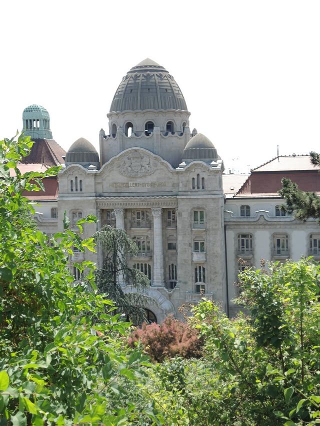 Boedapest: Het Gellérthotel