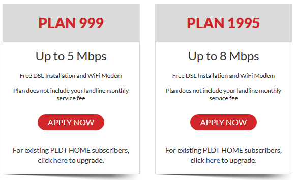PLDT DSL Fam Plan 999 is now up to 5Mbps