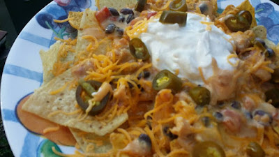 five ingredient main dish, tortilla chip main dish, dinner idea, weekday dinner quick, recipe