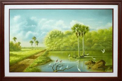 Oleo, paisajes