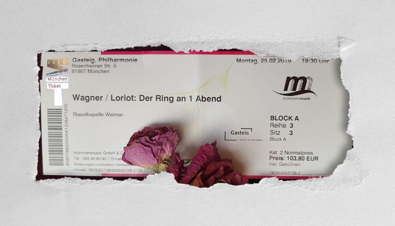 Konzertkarte: Wagner Loriot - Der Ring an 1 Abend 2019