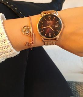 Elegante Uhr von Sixties mit persönlicher Gravur