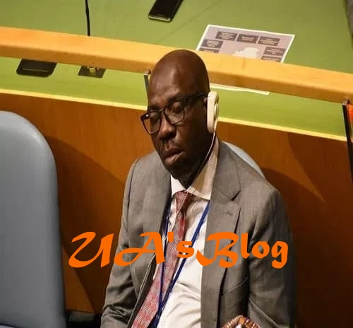 Edo explains gov's 'sleep' during UN general meeting
