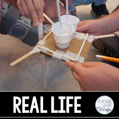 STEM Challenge: Build a cargo carrier that can withstand a drop of a few feet.