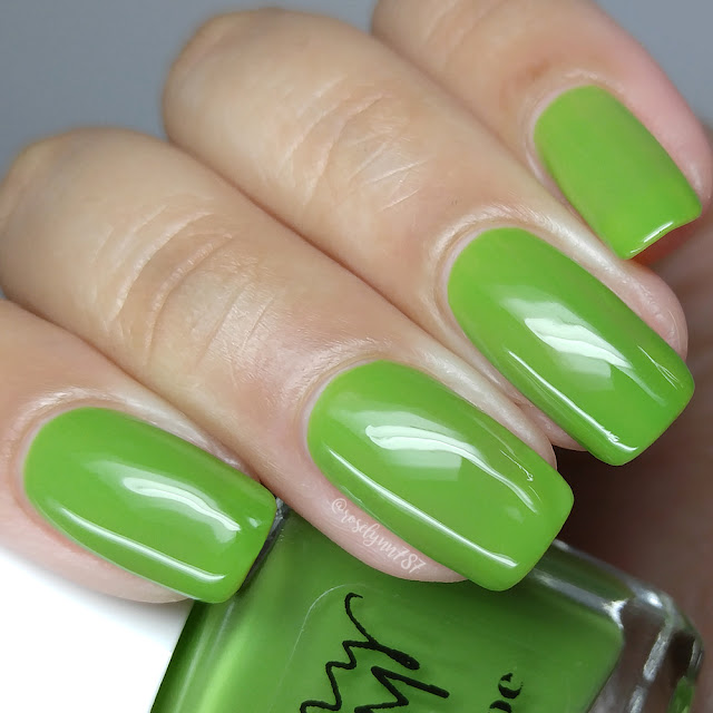 Penny Bloom Nail Polish - Greenscape