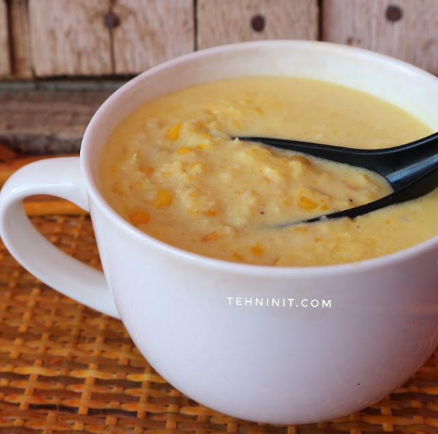 Sup Krim Jagung Praktis Yang Super Creamy