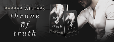 Cover Reveal: Throne of Truth by Pepper Winters