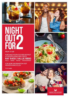 @MontecasinoZA #NightOutFor2 Is Back With Exceptional Value