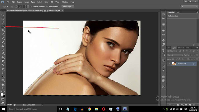 How to Whiten or Lighten Skin with Photoshop