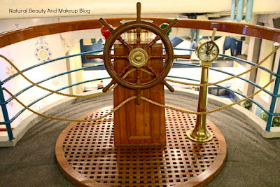 Model of nautical instrument at Macau Maritime Museum