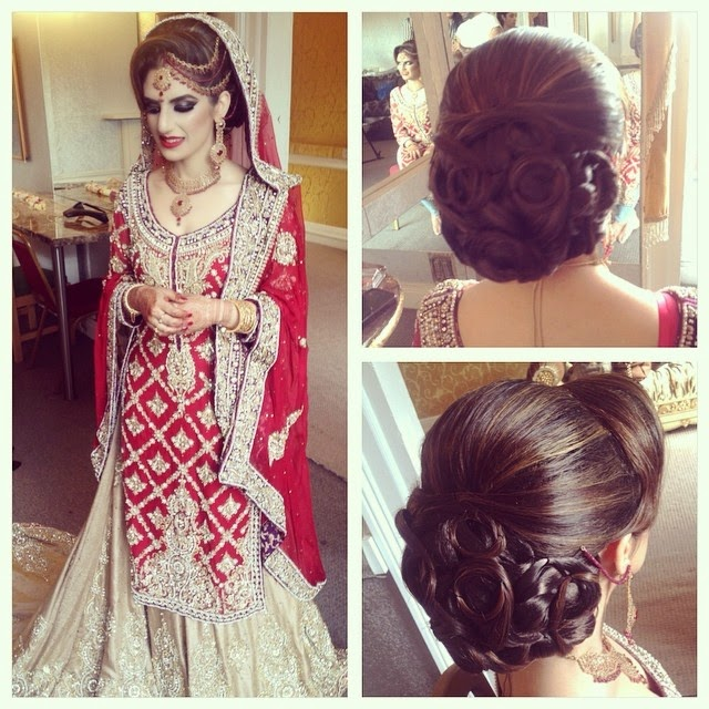 Bridal Hairstyle Tips For Your Wedding Day: Aamir Naveed Bridal Hairstyles 2015
