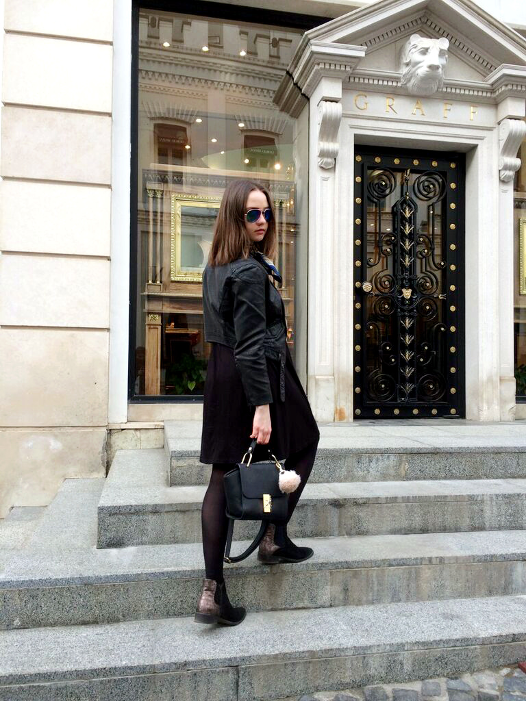 All Black Outfit | Street Style 2016 | Fashion Bloggers