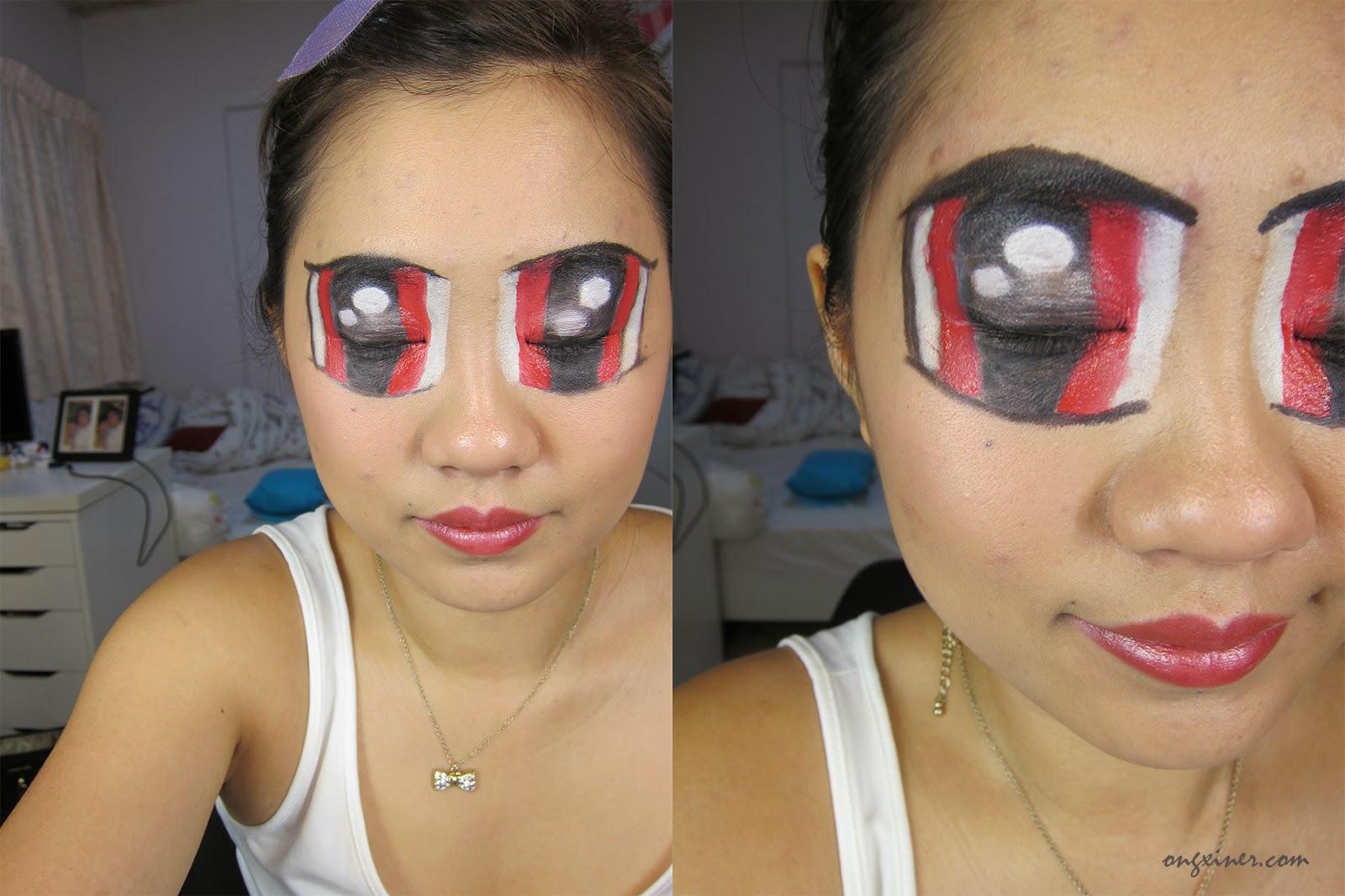 Powerpuff girls makeup