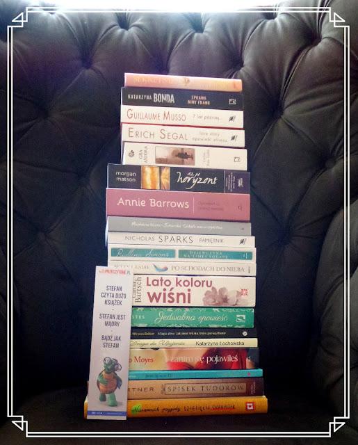 Sierpniowy zakupoholizm książkowy