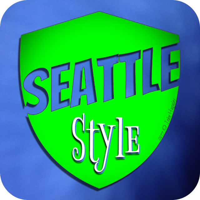 """Seattle Seahawks 3D Graphic Design, Logos, Banners, T-Shirts, and Post Cards, Printing - """"John Huguley"""""""