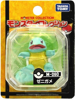 Squirtle  figure Takara Tomy Monster Collection M series