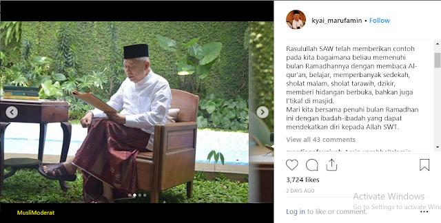 Ramadhan, Ngaji Kitab Kuning Bersama Cawapres Ulama
