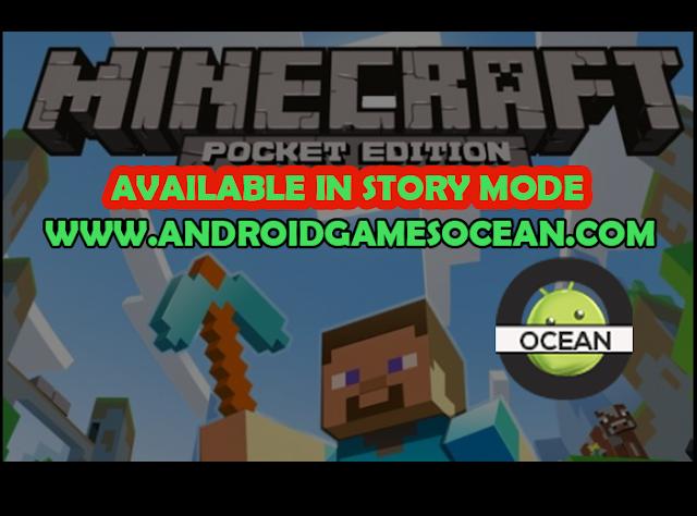 MINECRAFT: STORY MODE v1.26 (APK + OBB + UNLOCKED) Free Download screenshots - AndroidGamesOcean