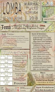 Lomba Karya Tulis Ilmiah (LKTI) 2018 by Univ. Mercu Buana Yogyakarta