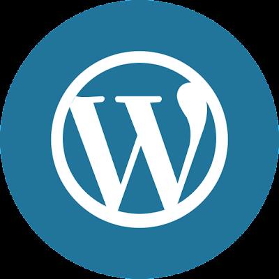 Wordpress Logo Design PNG Image