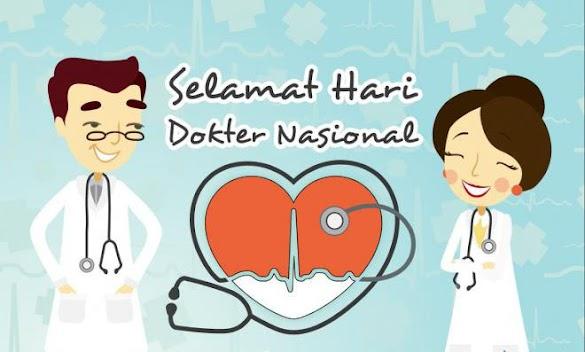 Kumpulan Kata Kata Dan Kartu Ucapan Hari Dokter Nasional 24 Oktober Terbaru