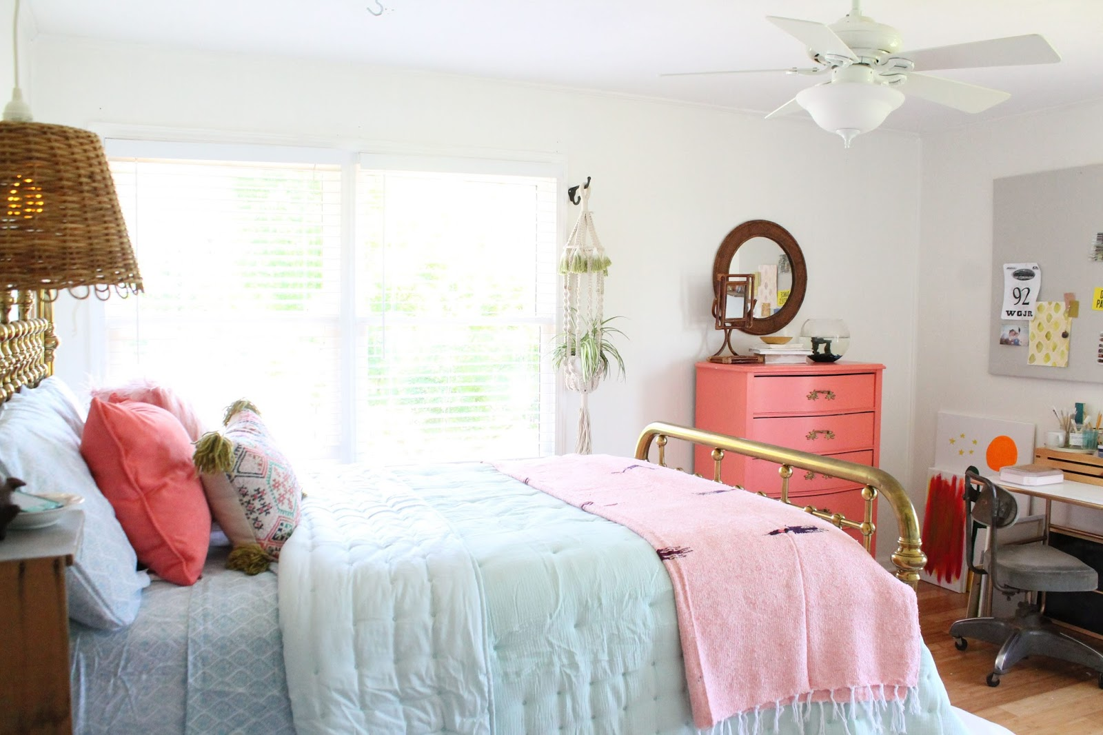 Boho Cowgirl Bedroom Refresh For Under $300!