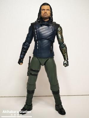 S.H.Figuarts Bucky Barnes + Efectos Impacto de Avengers: Infinity War - Tamashii Nations